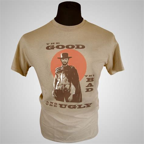 movie themed clothing the good the bad and the ugly movie themed retro t shirt