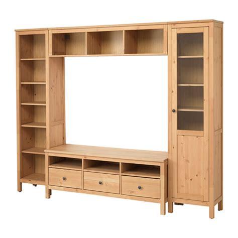 Wohnzimmer Hemnes by Hemnes Tv M 246 Bel Kombination Ljusbrun 246x197 Cm Ikea