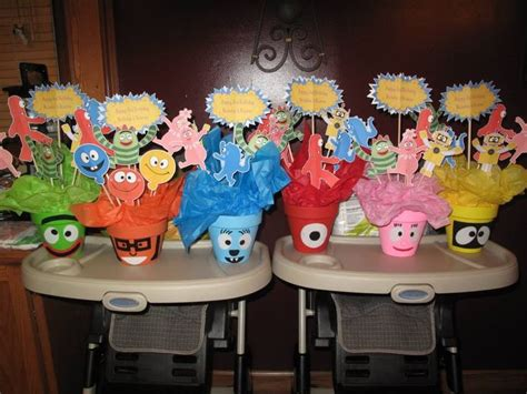 yo gabba gabba centerpieces 17 best images about gabba on boombox