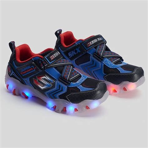 skechers light up shoes on off switch street lightz switches boys light up athletic shoes