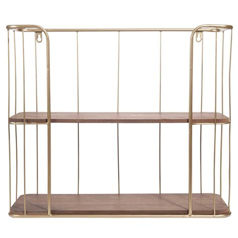stamford metal wall shelf h 45 cm maisons du monde