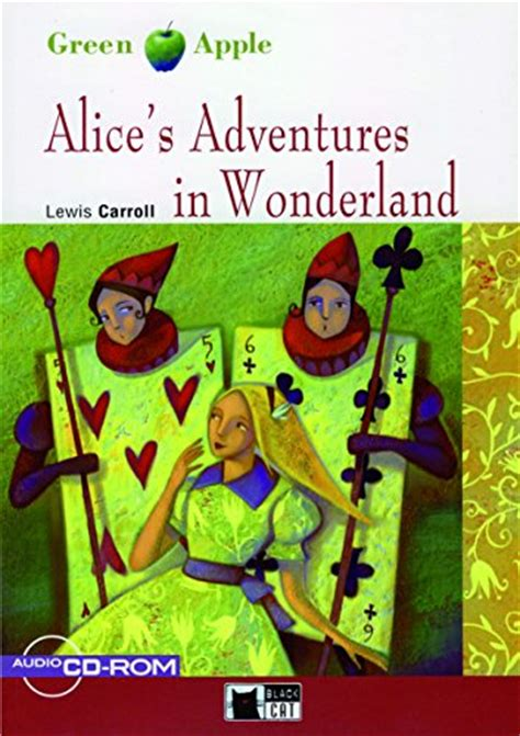 libro alice s adventures in wonderland green apple starter di lewis carroll