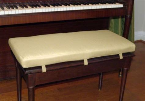piano bench cushions custom piano bench cushion deluxe cushion source