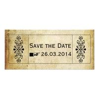 shop save the date tickets on wanelo