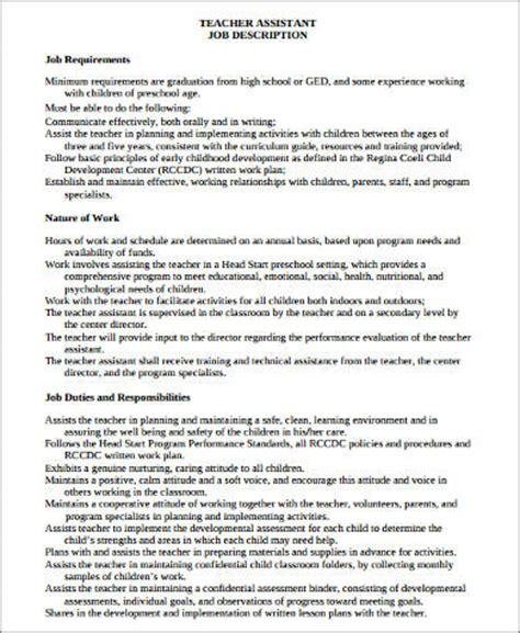 sle assistant resume 8 exles in word pdf