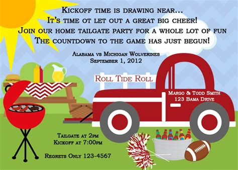 Come With Me Tailgate Ae Invites by Top 115 Ideas About Tailgating On Sausage