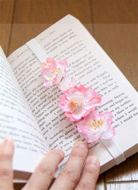 Original Buku Bunga Auditing pembatas buku cantik dari bunga plastik tutorial kesekolah