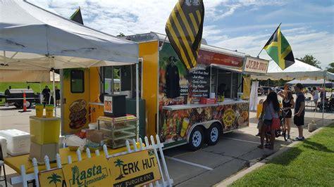 jerkin chicken food truck jamaican jerk hut columbia mo food trucks roaming hunger