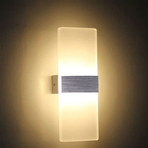 modern led  wall lamps sconces aluminum reading lights