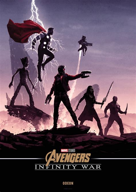 Plakat Infinity War by These Matt Ferguson Infinity War Posters Are