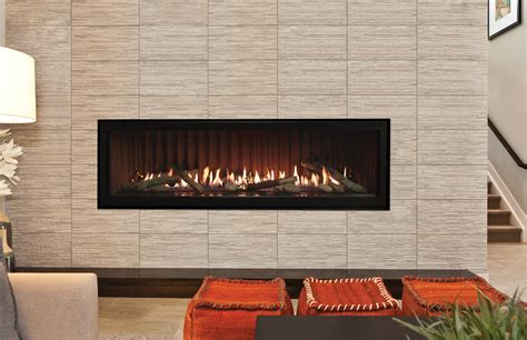60 Inch Gas Fireplace by Boulevard Fireplaces Direct Vent American Hearth