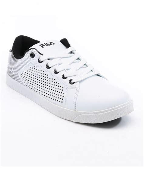 fila white casual shoes price in india buy fila white