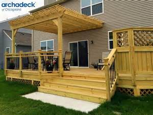 best 25 wood deck designs ideas on pinterest