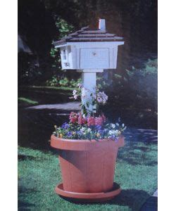 mailbox planter pots planters and planters on