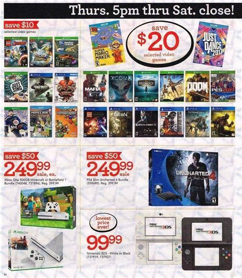 game stores baby section toys r us black friday 2016 ad huge sales on video games
