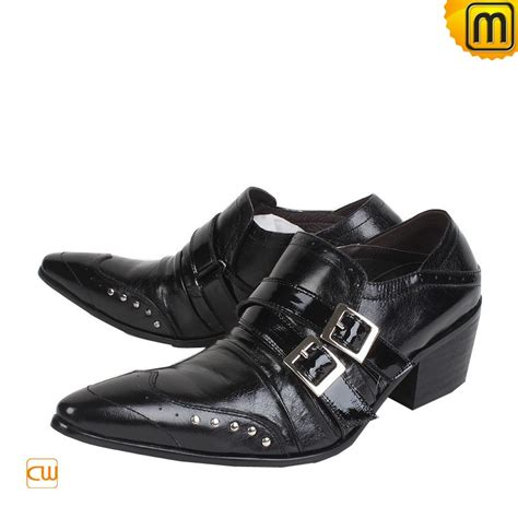 black leather dress shoes for cw760003