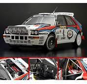 Kyosho 118 1991 Lancia Delta 4  Rally Monte Carlo