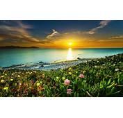 Landscape Nature Beach Sunset Clouds Sea Sky