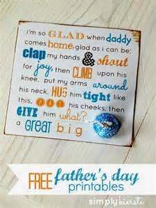 Free printable poems for dads father s day printable