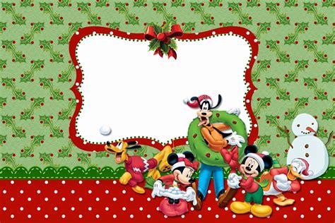 imagenes de navidad para invitaciones minnie y mickey especial navidad invitaciones para