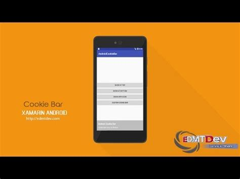 xamarin tab bar tutorial xamarin android tutorial cookie bar youtube