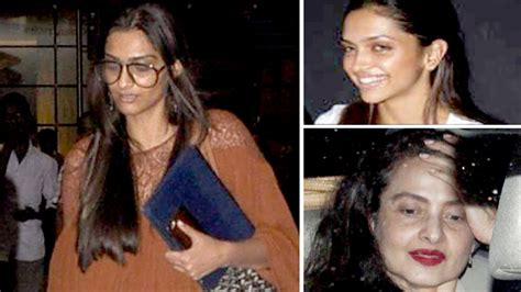 bollywood actress without makeup on youtube sonam to deepika rekha how bollywood actresses look