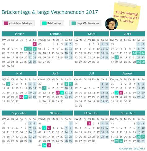 Kalender 2017 Urlaubsplanung Reformationstag 2017 Ist Bundesweiter Feiertag