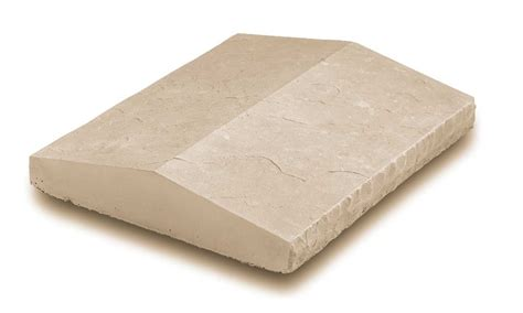 10 Wall Cap by Chiseled Edge Peaked Wall Cap Ecostone Products