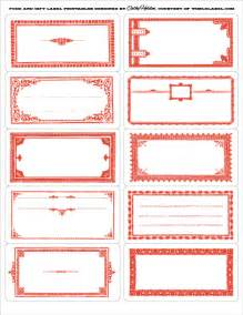 Templates For Food Labels by Food Gift Labels By Cathe Holden Worldlabel
