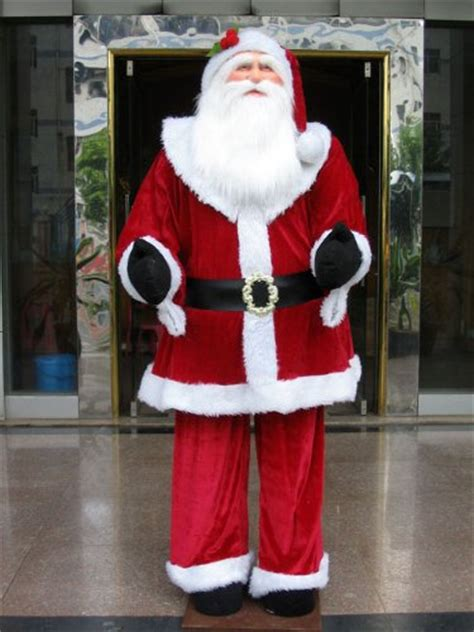 save 70 00 huge 6 foot life size decorative plush santa