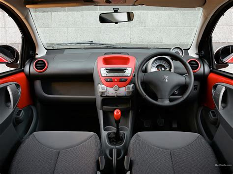 Peugeot 107 Interior Peugeot 107 Review And Photos