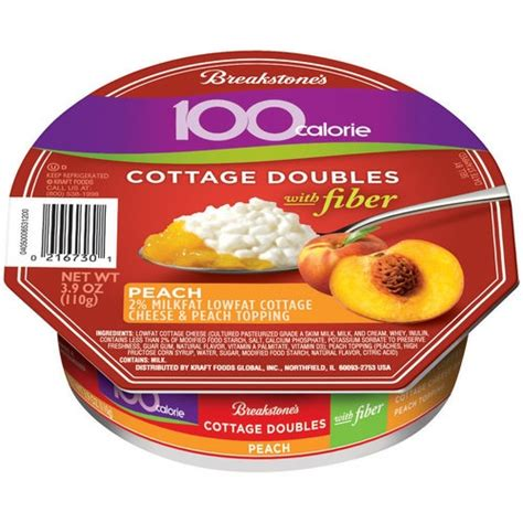 Cottage Cheese Fiber by Breakstones Cottage Cheese Doubles 3 9oz Pkg