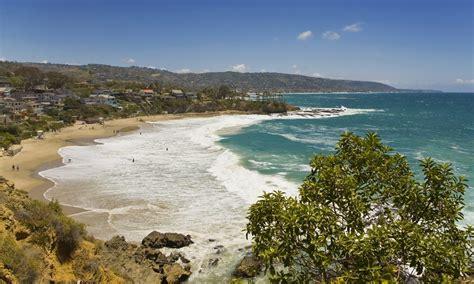 in california crescent bay laguna ca california beaches