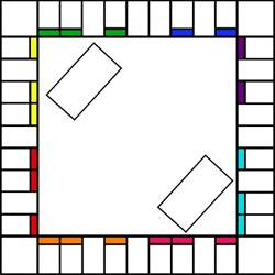 monopoly board game coloring pages
