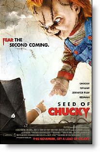 chucky film age rating seed of chucky 2004 review and or viewer comments