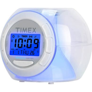 timex colour changing alarm clock with soothing sounds by timex shop for toys in