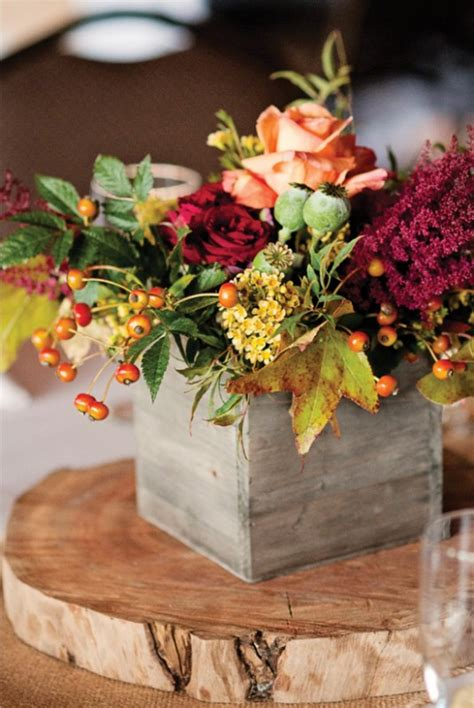 fall flowers centerpieces fall centerpiece ideas for your fall wedding