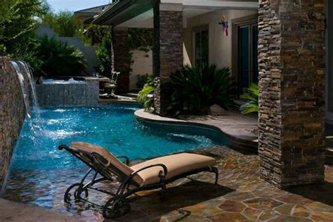 Small Backyards With Pools Small Backyard Pools Premier Pools Spas