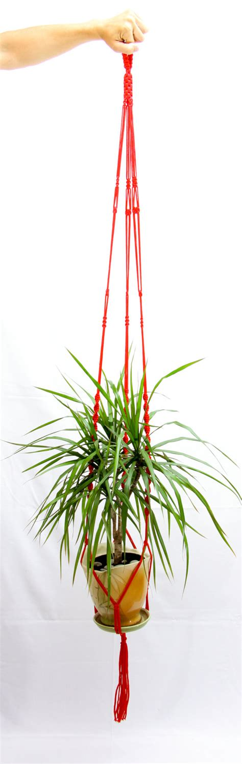 ceiling plant hangers items similar to ceiling macrame plant hanger 72 quot hanging planter large plant