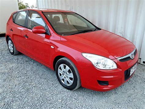 hatchback hyundai sold hatchback hyundai i30 2009 red used vehicle sales