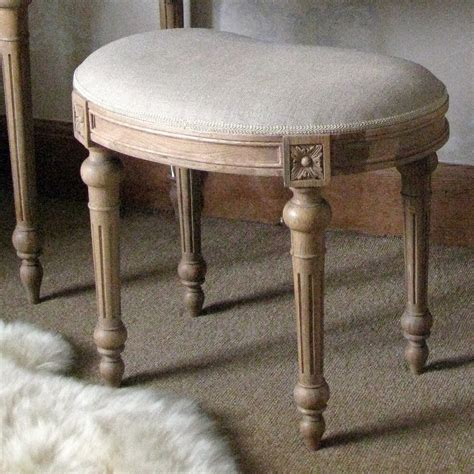 bedroom stools antoinette oak french carved stool french bedroom company