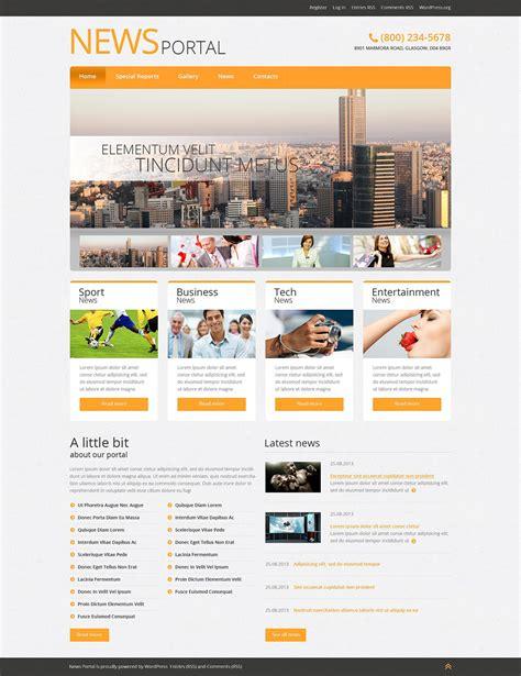 free bootstrap templates for news portal news portal responsive wordpress theme 51042