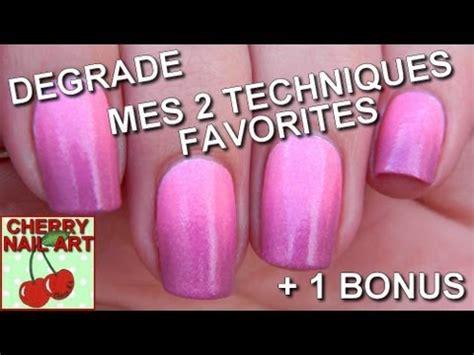 Tutorial Nail Art Degrade | degrade nail art 3 techniques youtube