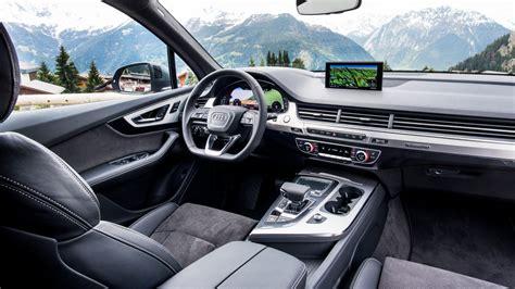 Audi Q 7 Interior Suff Deluxe Erster Test Des Neuen Audi Q7 2 Generation