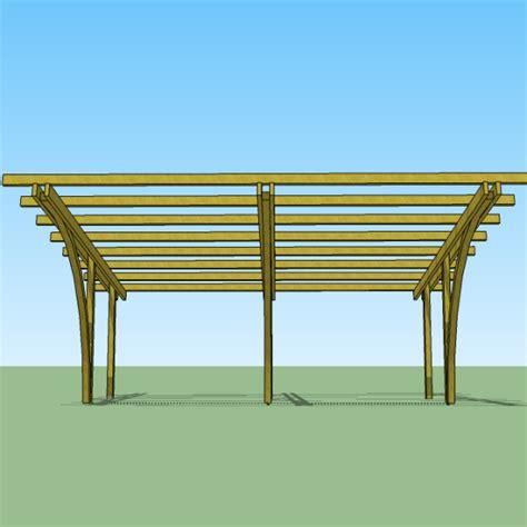 costruire tettoia legno auto carport in legno 6x5x2 70 copertura per 2 auto gazebo