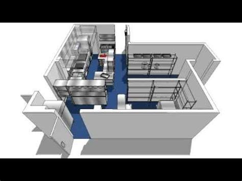 Professional Kitchen Design Software Commercial Kitchen Design 3d Walkthrough Avi Youtube