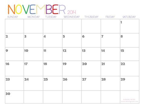planner for november 2014 printable 2014 printable calendars fresh designs