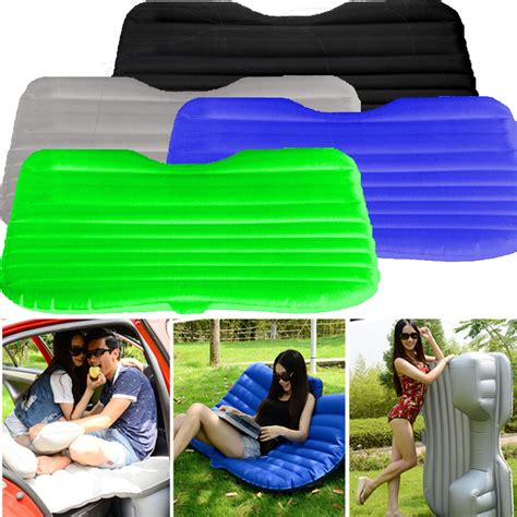 portable inflatable travel holiday camping car seat sleep