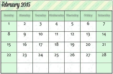 calendar february 2015 template 32 best images about february 2015 calendar on