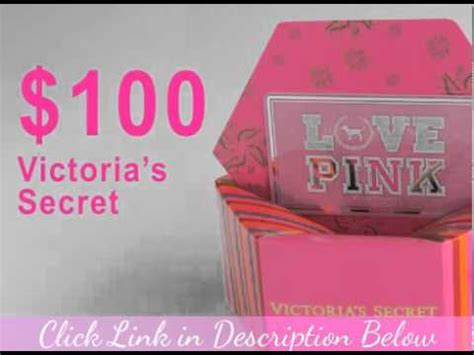 Victoria Secret Credit Card 20 Gift Card - victoria secret gift card youtube